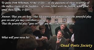 dead poet s society white tower musings