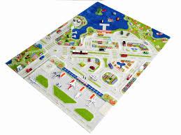 mini city 3d play carpet extra large 220 x 150cm