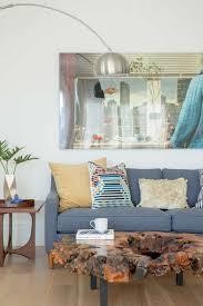 decorist sf office 5. The Bedroom\u0027s Seating Area Features A Sleek Chrome Floor Lamp And Vintage Burlwood Coffee Table. Decorist Sf Office 5