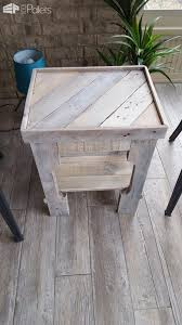 pallet coffee table with matching end tables3