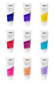 Fudge Hair Dye Colour Chart Fudge Paintbox Extreme Colours