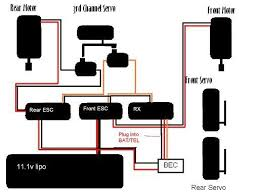 bec wiring diagram wiring diagram for dual esc s dual servos bec and one battery click the image to