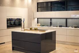 Light Gray Cabinets Kitchen Gray Island With Marble Countertop White Tile Backsplash Stainless