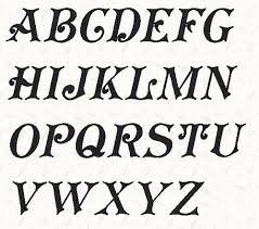 10 best Alphabet Templates images on Pinterest   Alphabet letters ... & Printable Alphabet Koster Font template pattern in pdf by lintin Adamdwight.com