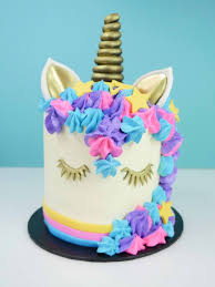 Howtocookthat Cakes Dessert Chocolate Easy Unicorn Cake