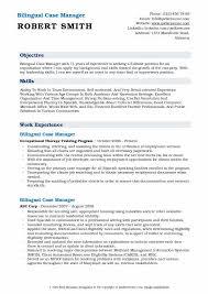 Case Manager Resume Amazing Bilingual Case Manager Resume Samples QwikResume