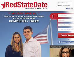 The homepage of RedStateDate com reminds users the site is free  as is its counterpart BlueStateDate com  However to message anyone on the site      WTOP com
