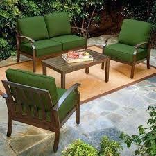 garden lounge furniture 4 piece metal patio conversation set with green cushions modern garden lounge furniture garden lounge furniture
