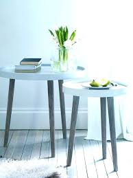 small white round side table small white side table argos