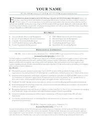 Accounts Payable Resume Inspiration Accounts Payable Clerk Resume Accounting Accounts Payable And