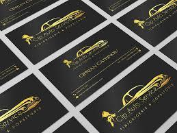 Business Card Auto Car Service By Vladulescu Gabriel Dribbble