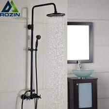 black bathroom faucets. Luxury Bronze Black Bathroom Shower Bath Faucet Dual Handles In Wall Washing Room Mixer Taps Faucets S