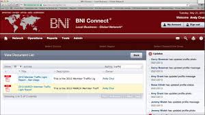 Bni Traffic Light Scoring System How To Access Member Traffic Lights In Bni Connect