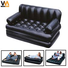 bestway 5 in 1 inflatable sofa air bed couch