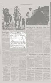 Preakness Stakes Chart The New York Times