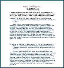 Literature Review Outline Literature Review Outline Format 284