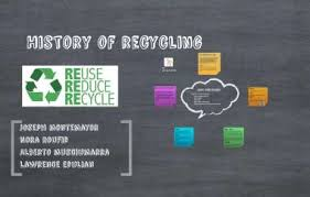 History of recycling by Joseph Montemayor