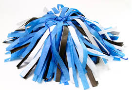 diy cheerleading pom poms shares once