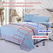 popular home textile 3 4pcs bedding set include duvet cover flat sheet pillowcase twin full queen