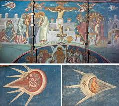 surprisingly much of the ufo artwork is found in middle ages paintings these