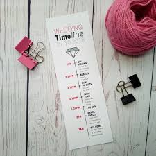 Wedding Timeline Boy Meets Girl Wedding Timeline Sugar Crush Weddings 10