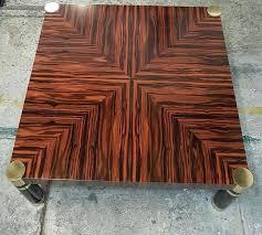 art ebony coffee table wood full size