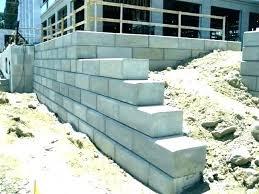 cinder block retaining wall wall cost block retaining concrete block retaining wall design example uk cinder block retaining wall