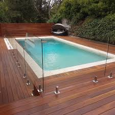 residential glass pool fencing image gallery