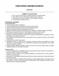 Gallery Of Resume Summary Of Qualifications Samples Samples Of