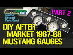 1967 mustang instrument cluster wiring diagram download mp3 (20 3 1967 Mustang Wiring Diagram Free wiring diagram mp3 for free how to diy aftermarket gauge cluster for 1967 1968 mustang part 2 episode 189 autorestomod 1967 mustang wiring diagram free