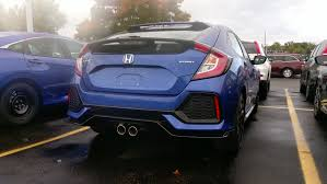 2017 Honda Civic Hatch Sport  6