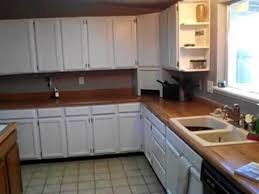 before and after painting oak kitchen cabinets white high gloss diy job valspar paint