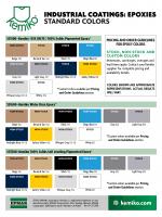 Kemiko Color Chart Concrete Stain Colors Color Cards Color Charts Kemiko