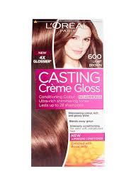 Light Brown Hair Color Casting Creme Gloss Hair Color 600 Light Brown