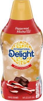 Common brands of coffee brands include nestle, carnation, coffee mate and international delight. Metro Market International Delight Peppermint Mocha Coffee Creamer 64 Fl Oz
