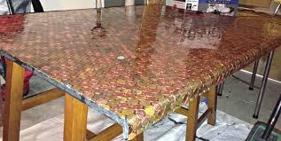 Penny Kitchen Floor Homeroad A Penny Desk