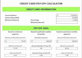 13 Beautiful Credit Card Payment Calculator Excel Davidklinghoffer