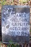 James Milton Ratliff, III (1868 - 1945) - Genealogy