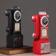 vintage rotary antique wall telephone