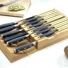 Knife Drawer Storage Tray