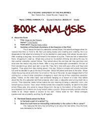hope for the flowers book analysis