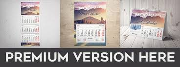 Free Desk Calendar Mock-Up In Psd | Free Psd Templates