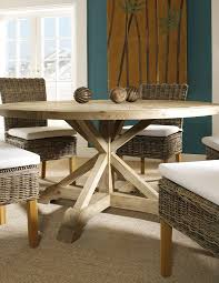 padma s plantation salvaged wood 60 inch round dining table live well s