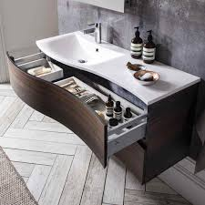 bauhaus svelte 120 wall hung vanity unit with basin bauhaus svelte 120 wall hung vanity unit drench