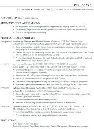 Sample Resume Assistant Manager Finance Accounts
