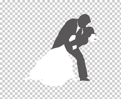 Wedding Silhouette Marriage Married Couples Hugging Kissing Man