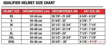 Bell Qualifier Dlx Size Chart Rugged Radios Bell Qualifier Deluxe Air Helmet