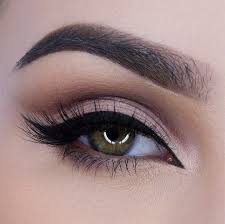 wedding makeup purple smokey eye cat eye