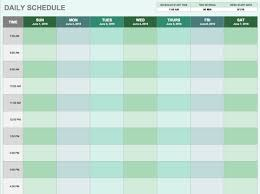 Daily Time Table Daily Routine Time Table Chart Printable Morning Routine