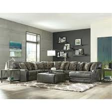 5 pc sectional sofa casual classic steel gray 5 piece sectional sofa nevio 5 pc leather